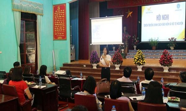 Bắc Giang: Đẩy mạnh phát triển bảo hiểm xã hội tự nguyện