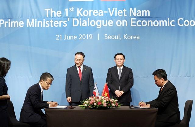 Việt- Hàn: Lần đầu đối thoại kinh tế cấp Phó Thủ tướng đạt nhiều thoả thuận - 2
