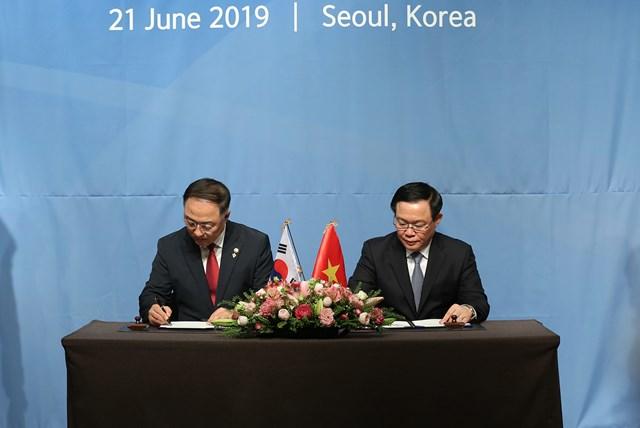 Việt- Hàn: Lần đầu đối thoại kinh tế cấp Phó Thủ tướng đạt nhiều thoả thuận - 1