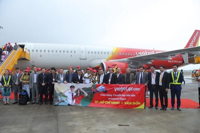 VietjetAir chính thức mở đường bay Vân Đồn - TP Hồ Chí Minh - 2