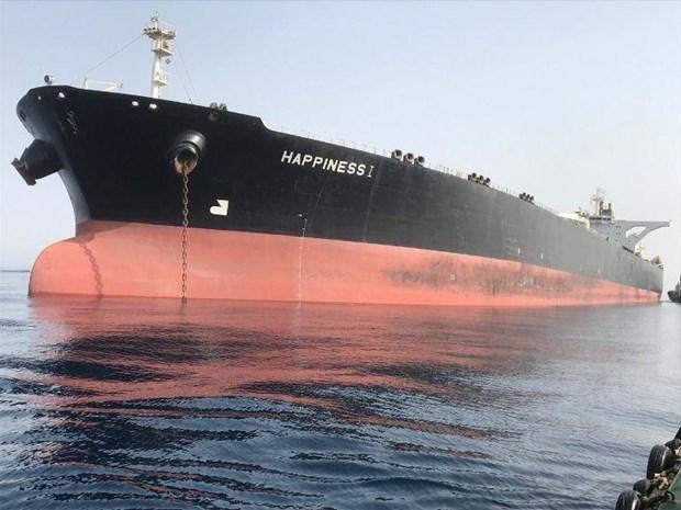 Iran: Saudi Arabia đã thả tàu chở dầu Happiness 1 sau 2 tháng tạm giữ