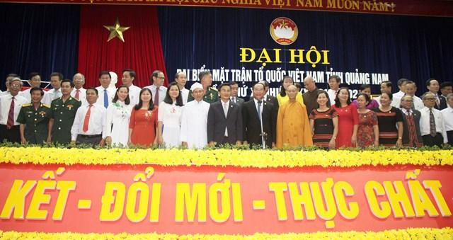 Ông Võ Xuân Ca tái đắc cử Chủ tịch MTTQ tỉnh Quảng Nam - 5