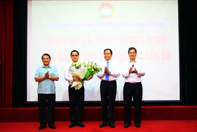 Công bố quyết định của Ban Bí thư về công tác cán bộ tại UBTƯ MTTQ Việt Nam - 2