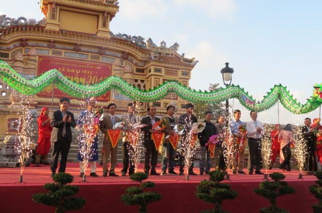 Thừa Thiên - Huế: Khai mạc Hội Xuân Kỷ Hợi 2019
