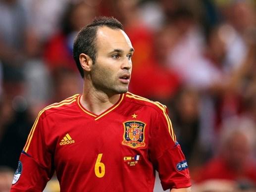 Iniesta chấm Tây Ban Nha điểm 10/10