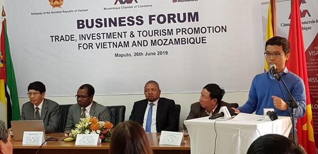 Tổ chức xúc tiến hợp tác đầu tư, thương mại và du lịch tại Mozambique