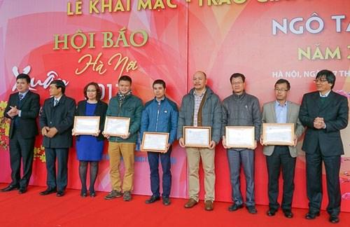 Khai mạc Hội báo Xuân Đinh Dậu - Hà Nội 2017 - 1