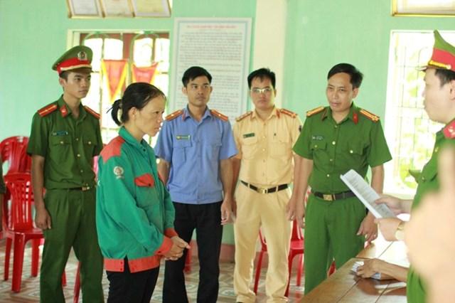 Khởi tố đối tượng đốt cỏ gây cháy rừng ở huyện Hương Sơn