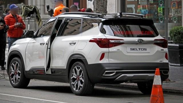 Kia xác nhận tên gọi Seltos cho mẫu SUV mới - 5