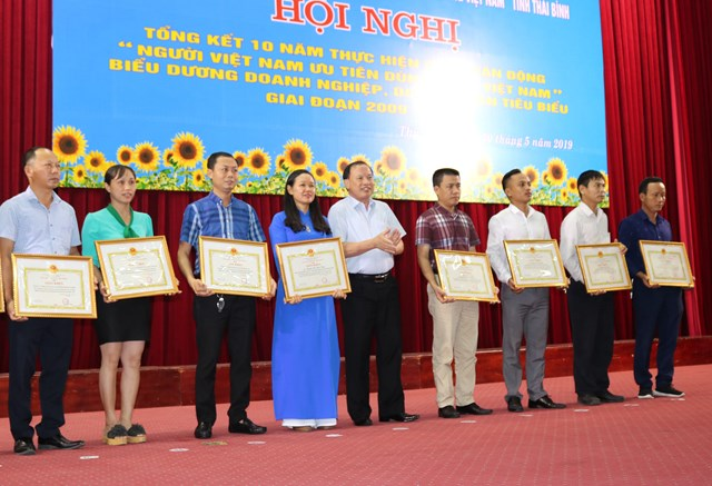 Thái Bình: Người tiêu dùng đặt niềm tin vào hàng Việt - 3