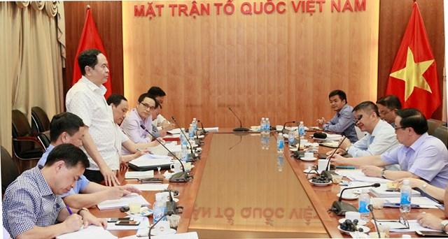 BẢN TIN MẶT TRẬN: Đảng đoàn MTTQ Việt Nam làm việc với Ban Đối ngoại Trung ương