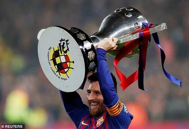 Messi lập công, Barcelona bảo vệ thành công ngôi vương La Liga - 1