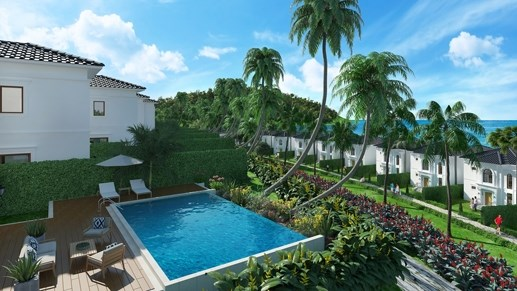 Mở bán 57 căn biệt thự đẹp nhất đảo Hòn Tre Nha Trang - 1