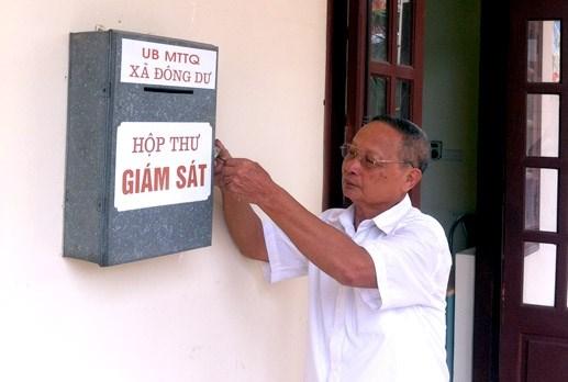 MTTQ TP Hà Nội: Giám sát hơn 6.000 vụ việc, công trình dự án
