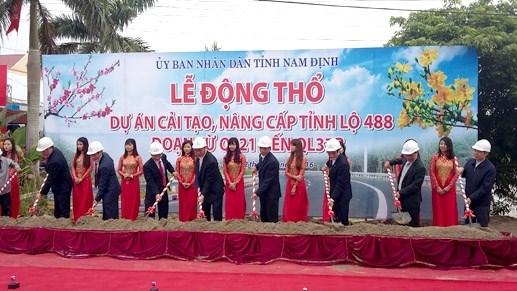 Nam Định: Mở rộng, nâng cấp thêm một tuyến đường nối vùng kinh tế biển