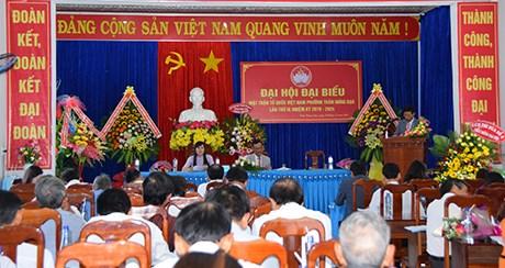 Kon Tum: Đại hội điểm MTTQ Việt Nam phường Trần Hưng Đạo