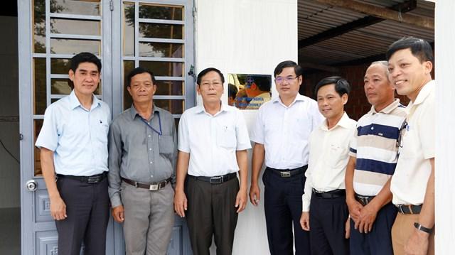Trao nhà tình nghĩa tại Quảng Nam do ngành Điện lực hỗ trợ