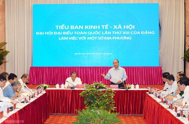 Thủ tướng: Miền Trung, Tây Nguyên phải phát triển để ổn định - 1