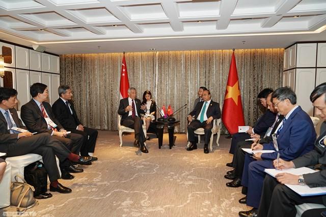 Cuộc gặp giữa Thủ tướng Việt Nam và Singapore giúp hai bên hiểu nhau hơn - 1