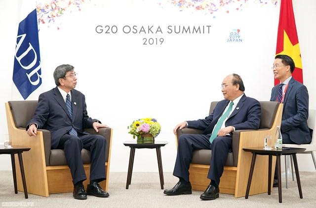 Thủ tướng gặp các nhà lãnh đạo Nga, Hàn Quốc, Đức, Australia, một số tổ chức quốc tế - 2