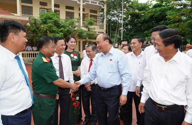 [ẢNH] Thủ tướng Nguyễn Xuân Phúc tiếp xúc cử tri Hải Phòng - 1