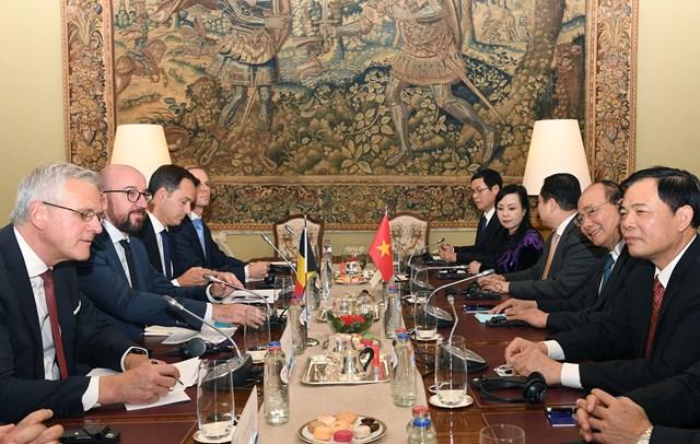 Thủ tướng Nguyễn Xuân Phúc hội đàm với Thủ tướng Bỉ - 1