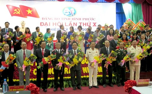 Ông Nguyễn Văn Lợi được bầu làm Bí thư Tỉnh ủy Bình Phước