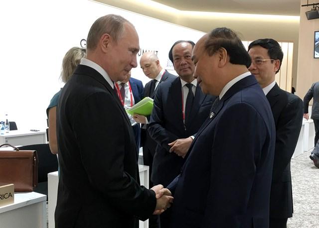 Thủ tướng gặp các nhà lãnh đạo Nga, Hàn Quốc, Đức, Australia, một số tổ chức quốc tế