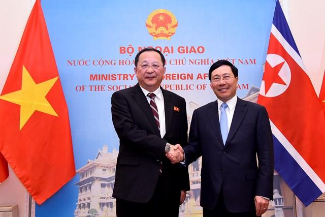 Việt Nam – Triều Tiên: Phối hợp chặt chẽ tại các diễn đàn quốc tế và khu vực