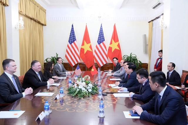 Việt Nam – Hoa Kỳ: Thúc đẩy trao đổi đoàn và tiếp xúc cấp cao - 1