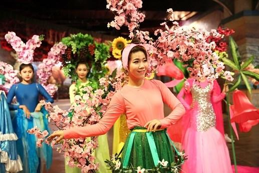 Rộn rã lễ hội hoa xuân Bà Nà Hills - 3