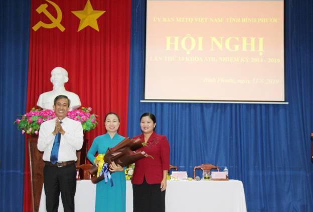 Ủy ban MTTQ Việt Nam tỉnh Bình Phước có tân Chủ tịch