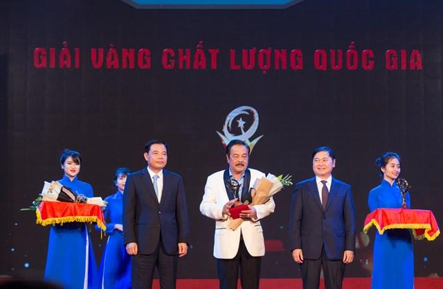 CEO Trần Quí Thanh: 'Giải Vàng Chất lượng quốc gia khẳng định doanh nghiệp sản xuất, kinh doanh sản phẩm, dịch vụ đẳng cấp thế giới'