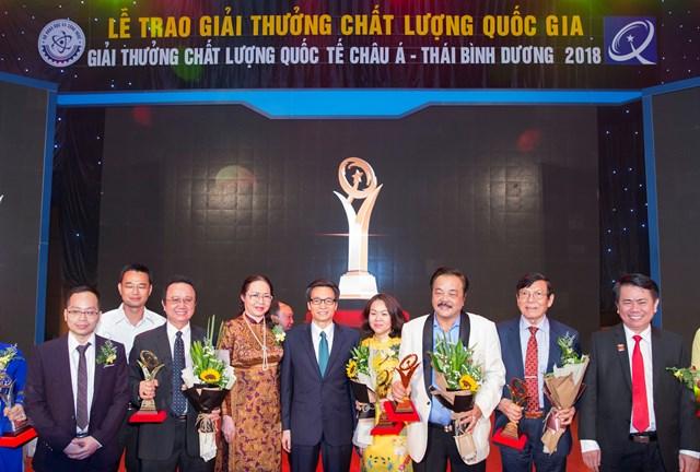 CEO Trần Quí Thanh: 'Giải Vàng Chất lượng quốc gia khẳng định doanh nghiệp sản xuất, kinh doanh sản phẩm, dịch vụ đẳng cấp thế giới' - 2