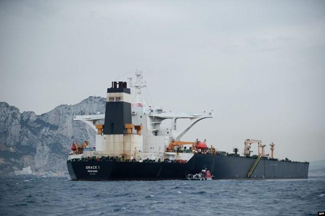 Anh tuyên bố sớm trả tự do cho tàu chở dầu Iran