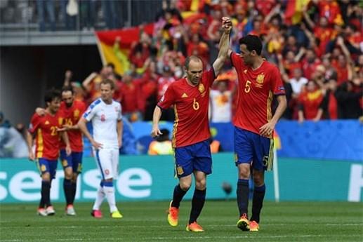 Tây Ban Nha 1-0 Ch Czech: Pique giúp bò tót thắng chật vật - 1