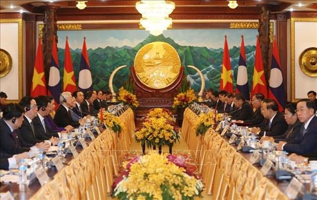Thể hiện sâu đậm mối quan hệ hữu nghị vĩ đại, đoàn kết đặc biệt Việt – Lào