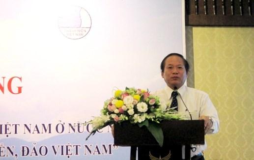Thanh niên Việt Nam ở nước ngoài bảo vệ biển, đảo Tổ quốc