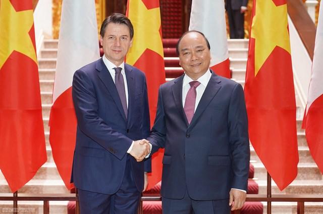 Đưa kim ngạch thương mại Việt Nam - Italia lên 10 tỷ USD