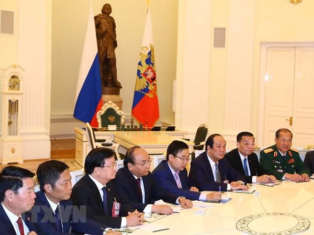 Thủ tướng hội kiến Tổng thống và Chủ tịch Duma Quốc gia Nga - 10
