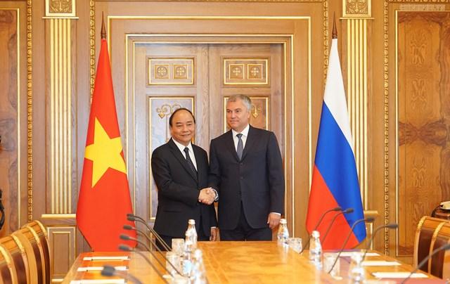 Thủ tướng hội kiến Tổng thống và Chủ tịch Duma Quốc gia Nga - 5
