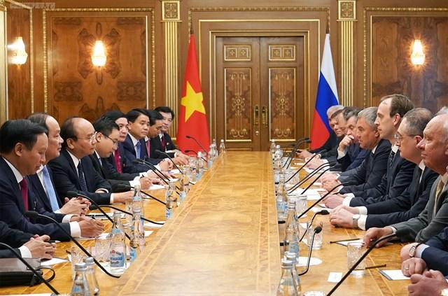 Thủ tướng hội kiến Tổng thống và Chủ tịch Duma Quốc gia Nga - 6