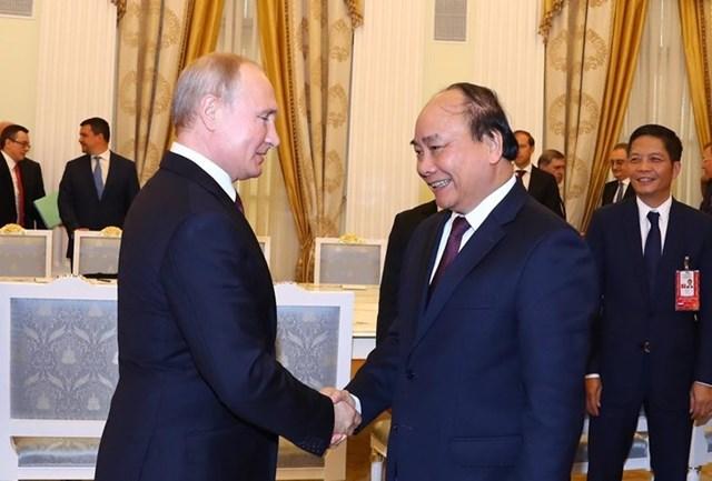Thủ tướng hội kiến Tổng thống và Chủ tịch Duma Quốc gia Nga - 7