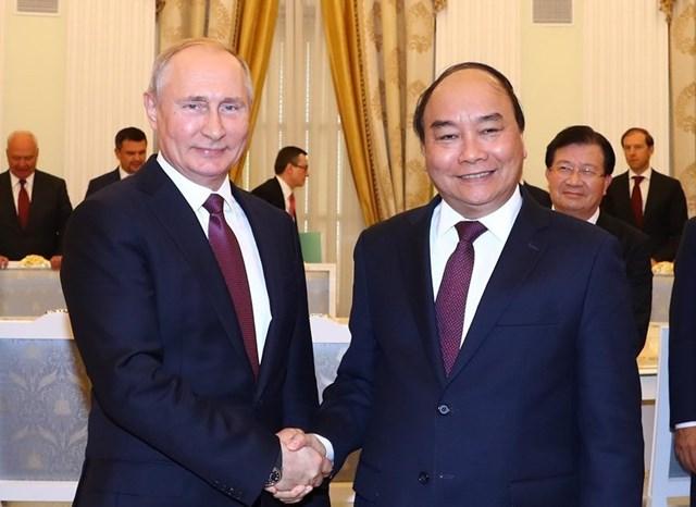 Thủ tướng hội kiến Tổng thống và Chủ tịch Duma Quốc gia Nga - 8