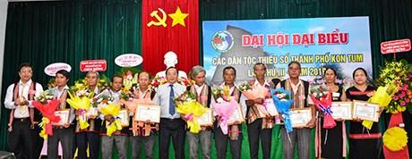 Kon Tum: Đại hội đại biểu các DTTS TP Kon Tum lần thứ III