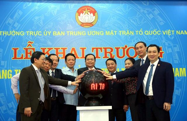 Khai trương giao diện mới Trang Thông tin điện tử MTTQ Việt Nam