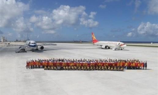 Trao công hàm phản đối Trung Quốc đưa máy bay ra Trường Sa
