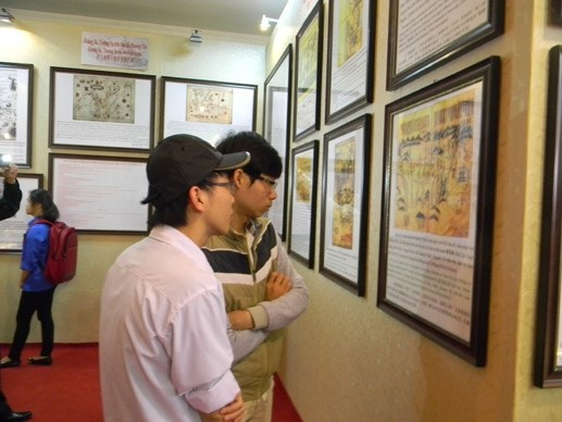 Triển lãm về Hoàng Sa, Trường Sa tại Thái Bình - 5