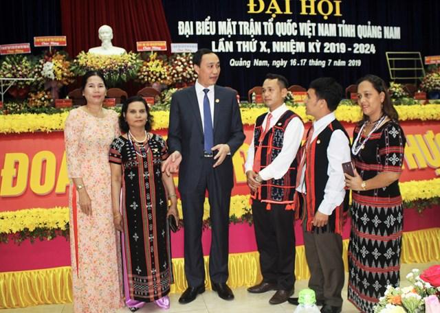 Ông Võ Xuân Ca tái đắc cử Chủ tịch MTTQ tỉnh Quảng Nam - 1