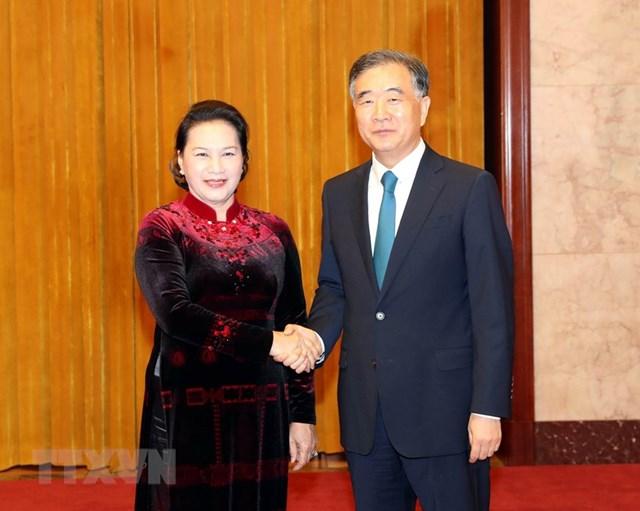[ẢNH] Chủ tịch Quốc hội hội kiến với các nhà lãnh đạo Trung Quốc - 4
